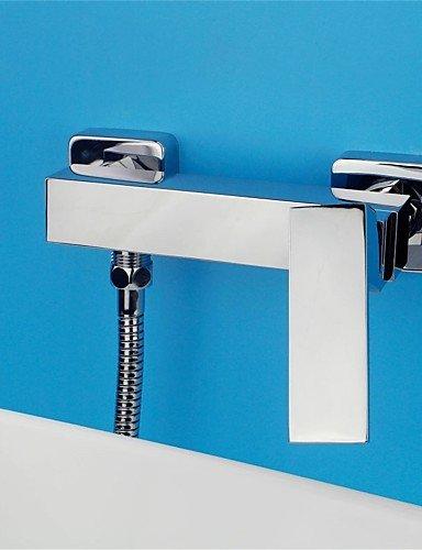 CELO Vollkupfer heiße und kalte Dusche Wasserhahn , silver