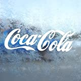 Aufkleber Coca Cola White Decal Window Laptop Vinyl White Sticker