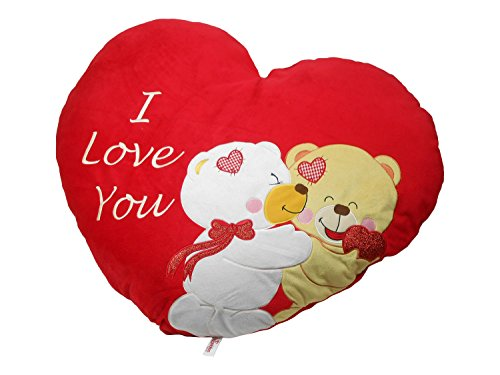 Archies Soft Toy I Love You Heart Cushion, Multi Color