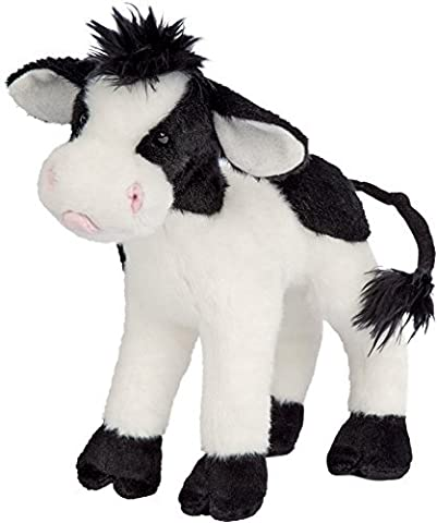 Cuddle Toys 4067 20 cm Long Sweet Cream Cow Plush Toy by Cuddle Toys