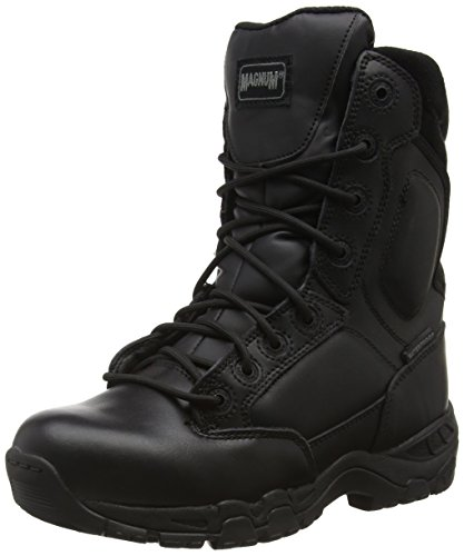 Magnum Viper Pro 8.0 Leather Waterproof, Stivali da Lavoro Unisex - Adulto, Nero (Black 021), 43 EU (9 UK)