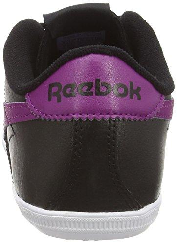 Reebok Royal Transport, Baskets Basses femme Noir (black/fierce Fuchsia/shark/white)