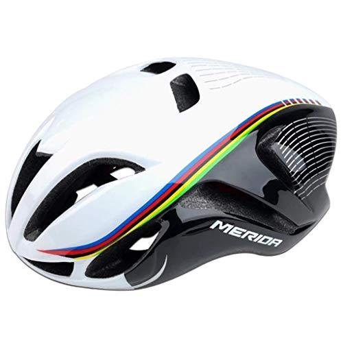 wthfwm Herren Radmützen Smart Fahrradhelm Mountainbike Helm Leichter Mountainbike Helm zum Wohlfühlen,B-56/61cm