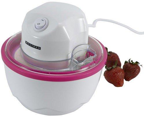 Kleine Eismaschine Melissa 16310121 'rot' Eiscreme-Maschine