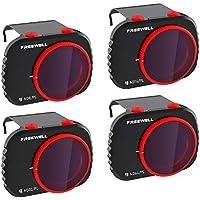 Freewell Bright Day -4K Series - Filtros de 4Paquetes Compatibles con Mavic Mini Drone