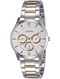 Citizen Analog White Dial Men's Watch - AG8358-87A