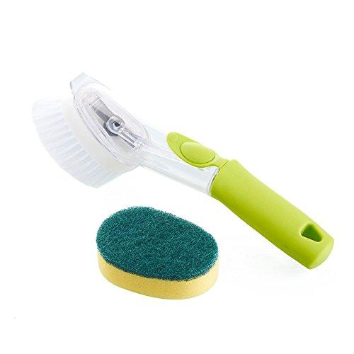utensili-spazzola-lavapiatti-dispenser-di-sapone-hand-held-loest-sapone-con-premere-il-pulsante-dish