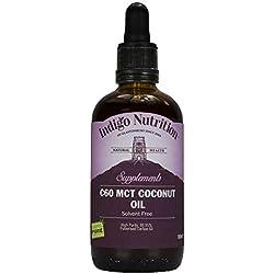 Indigo Herbs C60 Huile de Coco 100ml (Carbon 60)