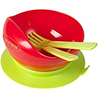 Clevamama Suction Feeding Bowl and Cutlery