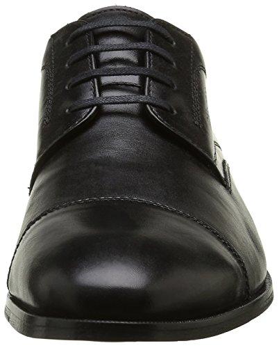 Sioux Nathalis, Chaussures de ville homme Noir (Schwarz)