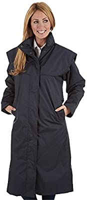 Sherwood Oakfield Ragley Superior Quality Full Length Womens Waterproof Rain Coat - Range Of Colours from Sherwood Forest Ltd