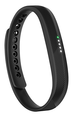 Fitbit FB403BK-EU Flex 2 Fitness Wristband, One Size, black