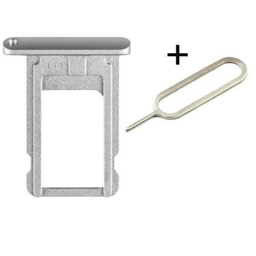 iDigital für iPad Air 2 / iPad Pro 12.9inch 2015 Simkarten Halterung SIM Tray Kartenhalter SIM ✅ SIM Tray Eject Needle Pin (Silber)