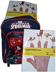 Mochila Carro Spiderman Capacidad 34 x 13 x 30 cms