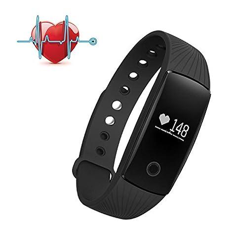 SAVFY Smart Bracelet Sports Bracelet Wrist Watch Wrist Heart Rate