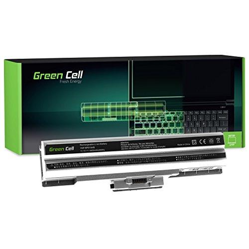 Green Cell Standard Serie VGP-BPS13 VGP-BPS13/S VGP-BPS13/B VGP-BPS13/Q VGP-BPL13 VGP-BPS21 VGP-BPS21A VGP-BPS21B Laptop Akku für Sony Vaio (6 Zellen 4400mAh 11.1V Silber)
