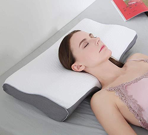 Yyang Orthopädisches Kissen Nackenstützkissen ergonomisches Kopfkissen Memory-Schaum Kissen(Memory Foam)