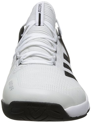 adidas Herren Adizero Ubersonic 2 Tennisschuhe Weiß (Footwear White/Core Black/Grey Two)