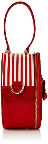 Scelta Irregolare Damen Freya Shopper, 11x22x22 Centimetri Marciume (rosso)
