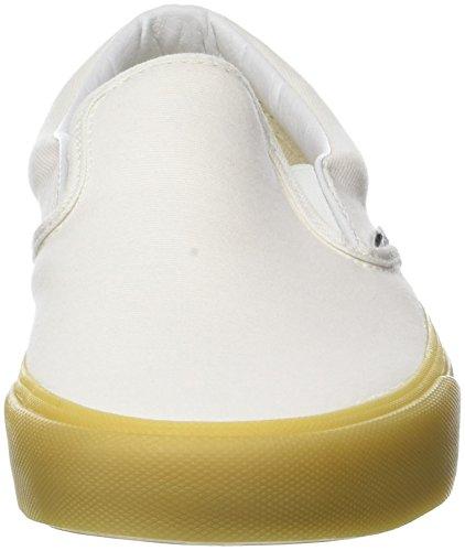 Vans Damen Classic Slip-on Sneaker, Elfenbein (Marshmallow/Gum Ovm), 39 EU