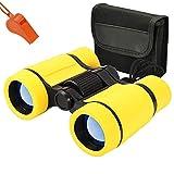 MIMIEYES Toys Binoculars for Kids High Resolution 4 x 30 - Compact Binocular