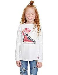 Desigual T-Shirt Liverpool Camiseta de Manga Larga para Niñas