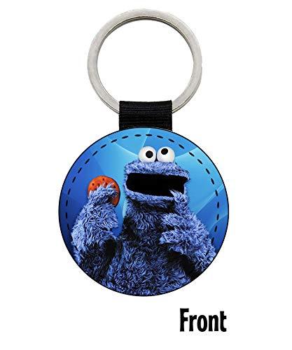 MasTazas Cookie Monster Sesame Street Schlüsselanhänger Keyring