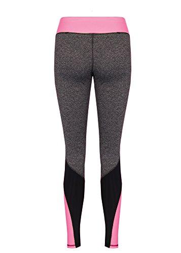 Dress Sheek Damen Sport Leggings Pink