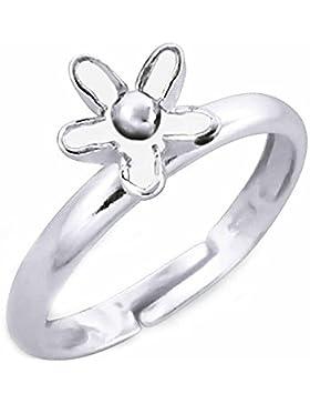 SL-Silver Mädchen Damen Ring Blu