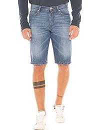 210837e7fad7 Sea Barrier Bermuda Uomo in Jeans Denim Puro Cotone StoneWashed