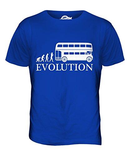 CandyMix Omnibus Bus Evolution Des Menschen Herren T Shirt Königsblau