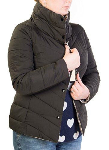 Giubbino piumino antony morale donna 100 grammi double face art. 85116 (l, nero)
