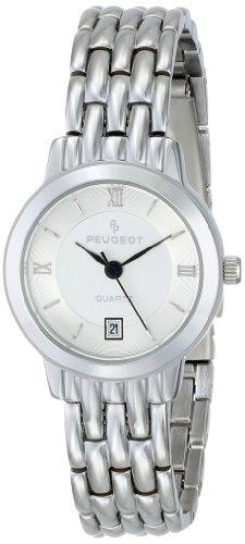 Peugeot Women's 144L Silver-Tone Bracelet Watch