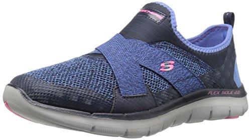 Skechers Damen Flex Appeal 2.0 New Image Sneakers, Blau (Nvy), 39 EU