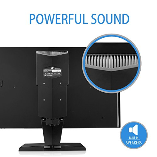 V7 L27000WHS 9K 686 cm 27 inch Monitor HDMIVGA 5ms speakers electricity Label A EU UK plug black Monitors