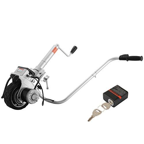 Mophorn 12V 2268kg Kapazität motorisierter Riemenscheibenspanner für Anhänger mit Rad 350W Trailer Mover Riemenscheibe (350W)