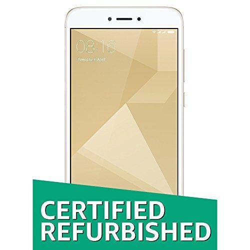 (Certified Refurbished) Xiaomi Redmi 4 (Gold, 64GB)