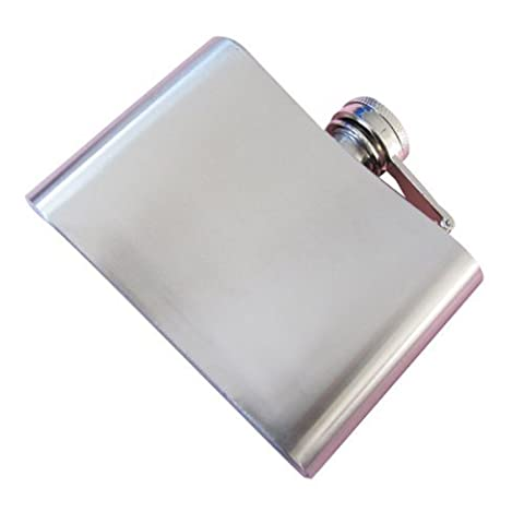 RuiChy Whiskey Pocket 4oz Hip Flask Liquor Alcohol With Stainless Steel Screw Cap