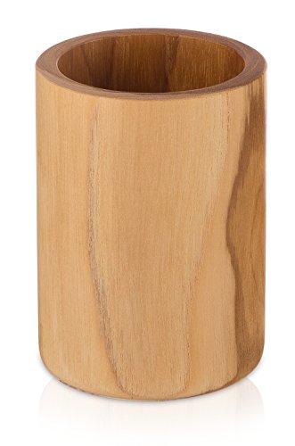 Möve porte-brosses à dents, couleur bois de teck 7 x 10 cm