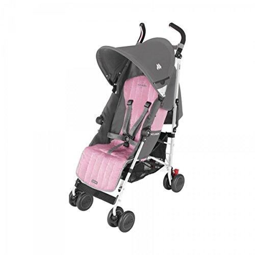 Maclaren Quest - Silla de paseo, color gris y rosa