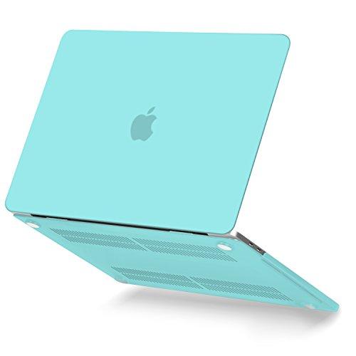 GMYLE Macbook Pro 13 Hülle 2017 & 2016 - Plastik Hülle für das aus MacBook Pro 13 Zoll von 2017 & 2016 A1706/A1708 mit / ohne Touch Bar (A1706 / A1708)- Türkis Blau (Macbook Pro Türkis-fall)