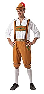 Bristol Novelty ac642alemán país disfraz de hombre, 42-44-inch