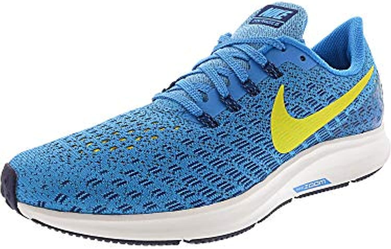Nike AIR ZOOM PEGASUS 35 942851 400 blu blu blu ORBIT BRIGHT CITRON (40.5)   Outlet Store Online  cc85c2