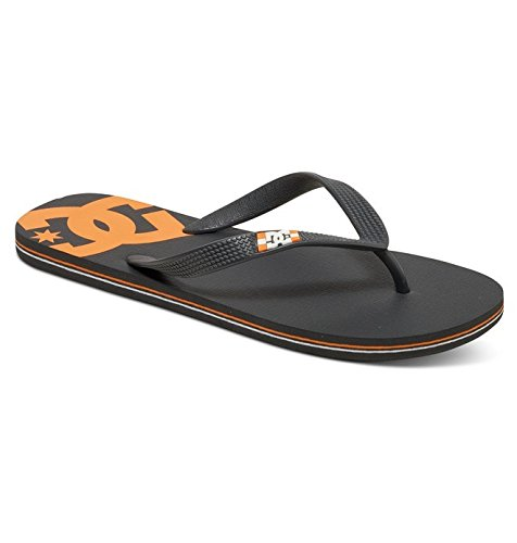 DC Shoes Spray - Flip-Flops - Tongs - Homme - US 8 / UK 7 / EU 40.5 - Gris