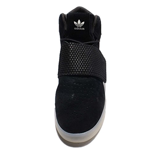 Adidas Originals Tubular Invader Sangle pour homme Hi Top Baskets Sneakers Chaussures black white BB5037
