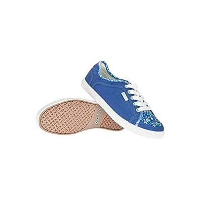 Roxy Sneaky Dye Trainers - Mellow Blue - UK 7