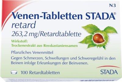 Venen-Tabletten STADA ret 100 stk