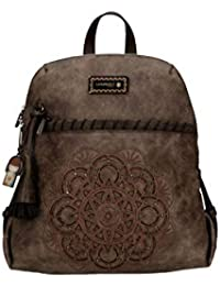 7cb9b91ad Kimmidoll Mochila bolso backpack marron