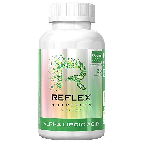 Acid Antioxidant (Reflex Nutrition Alpha Lipoic Acid (90) Standard, 45 grams)
