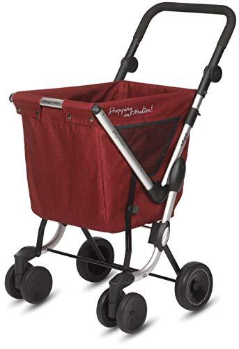 Playmarket We Go Carrito compra plegable ruedas giratorias